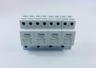 Type 1 Lightning 3 Phase Surge Suppressor , 220 / 380V AC Spd Surge Protection Device